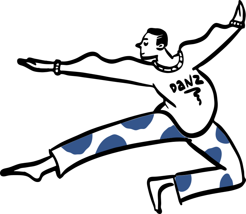 Ballet Clipart illustration in PNG, SVG