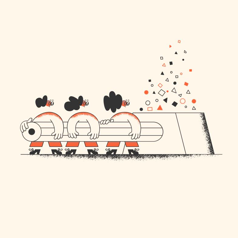 Team sport Clipart illustration in PNG, SVG