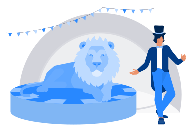 style At the circus images in PNG and SVG | Icons8 Illustrations