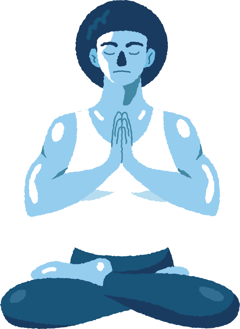 style meditating man Vector images in PNG and SVG | Icons8 Illustrations