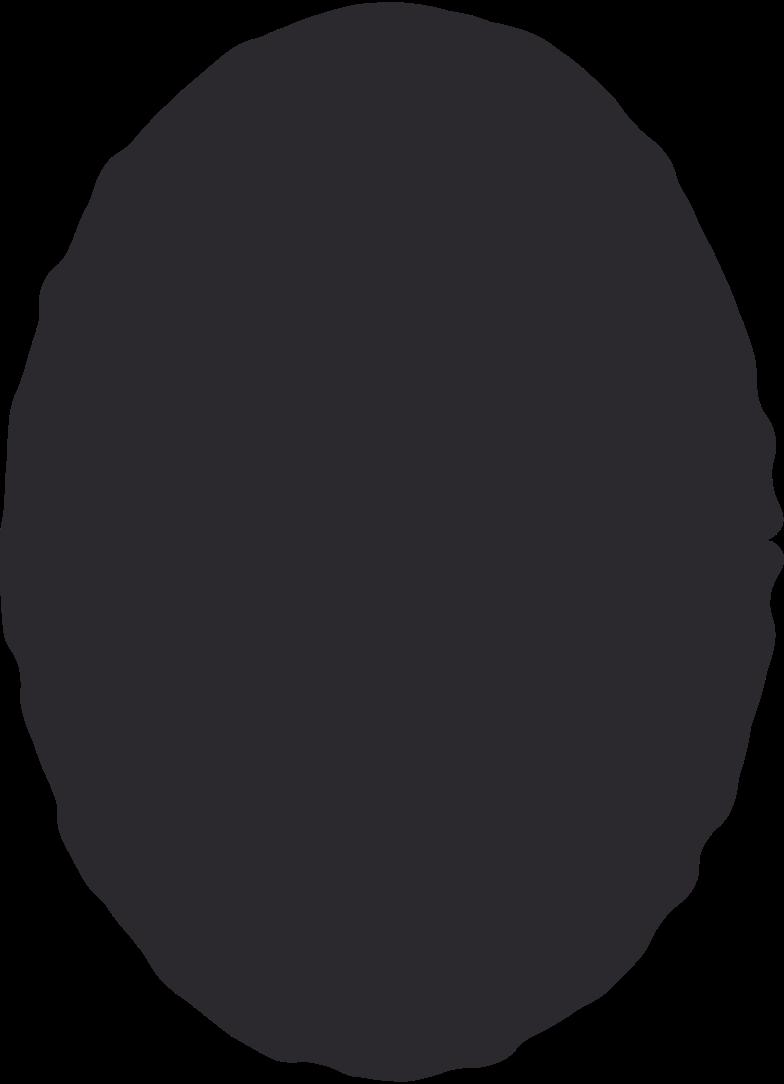 ellipse black Clipart illustration in PNG, SVG