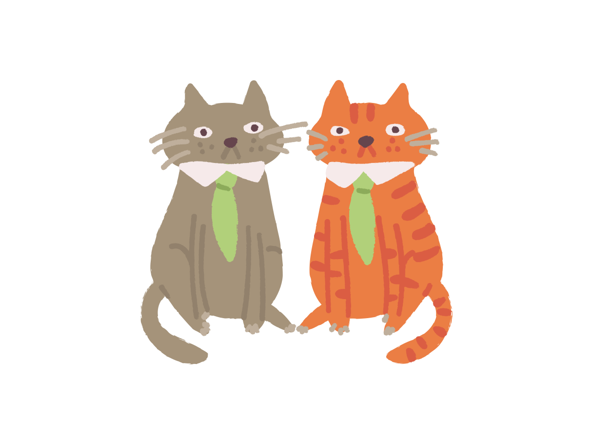 Co-workers Clipart illustration in PNG, SVG