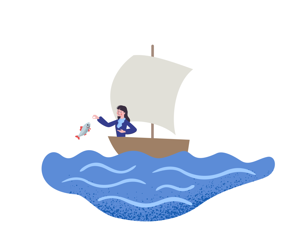 Yachting Clipart illustration in PNG, SVG