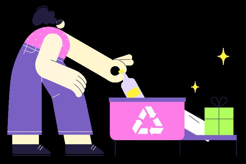 Recycling Clipart-Grafik als PNG, SVG
