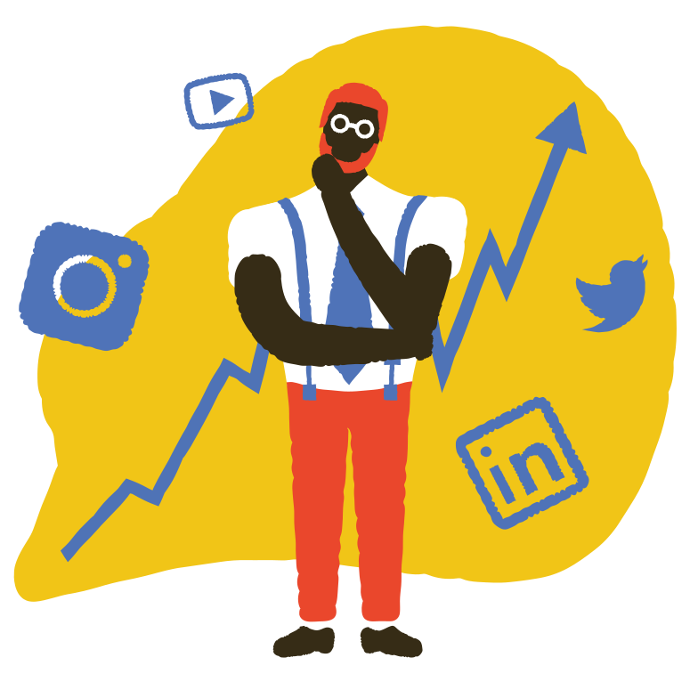 style Social media issues Vector images in PNG and SVG | Icons8 Illustrations