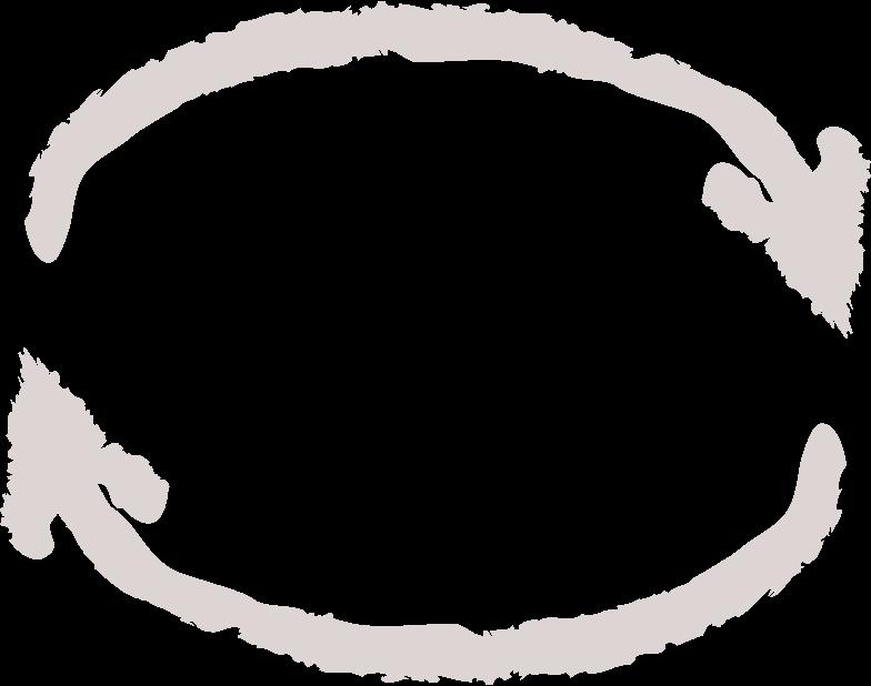 tk arrow circular Clipart illustration in PNG, SVG