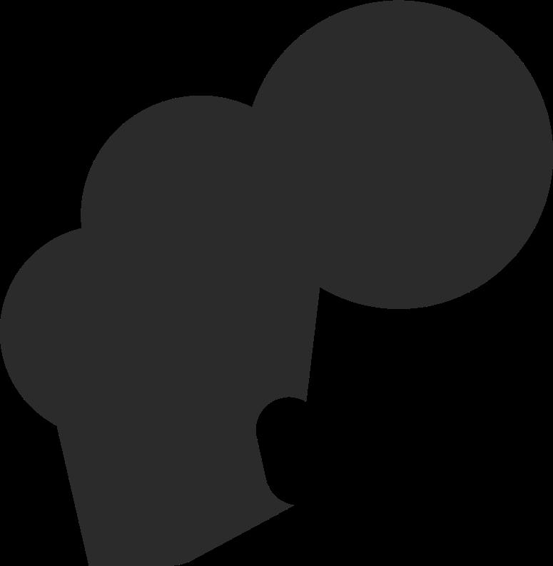 short curly teased hair back Clipart illustration in PNG, SVG