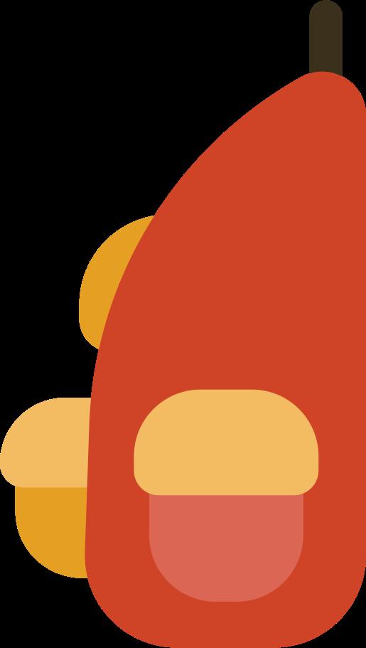 backpack side Clipart illustration in PNG, SVG