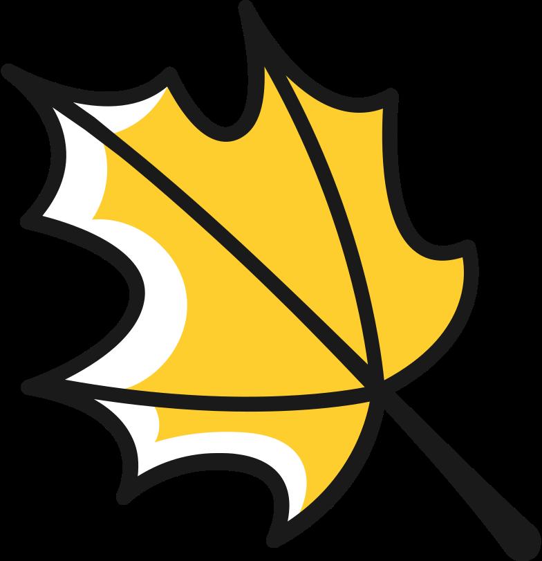 Ilustración de clipart de maple leaf en PNG, SVG