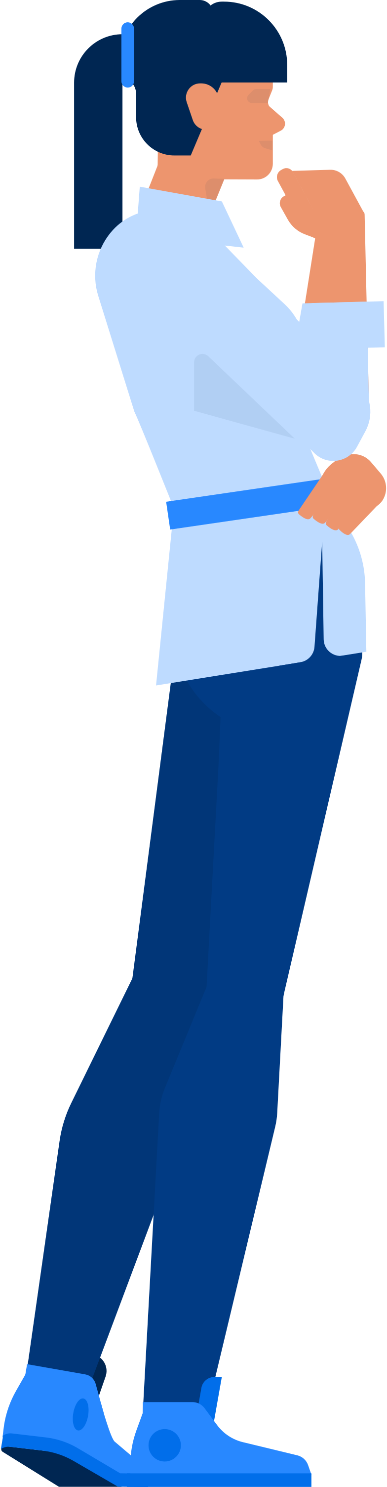 office woman Clipart illustration in PNG, SVG