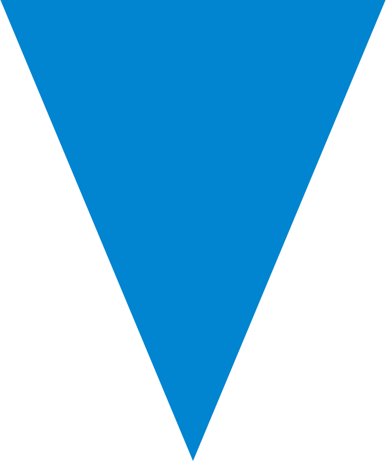 triangle blue Clipart illustration in PNG, SVG