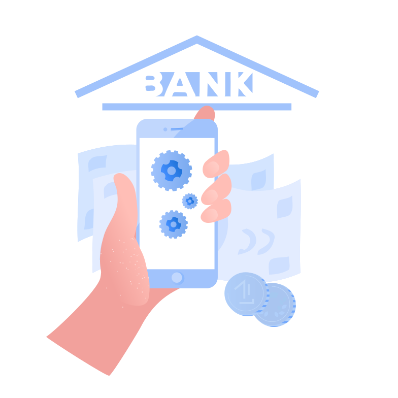 style Internet banking application Vector images in PNG and SVG | Icons8 Illustrations