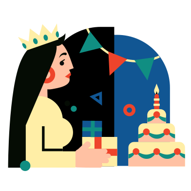 style Birthday images in PNG and SVG | Icons8 Illustrations
