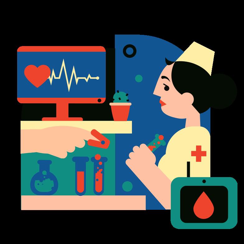 Medical tests Clipart illustration in PNG, SVG