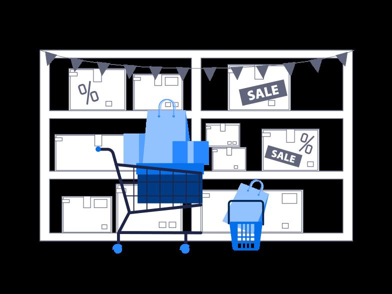 PNGとSVGの  スタイルの セール ベクターイメージ | Icons8 イラスト