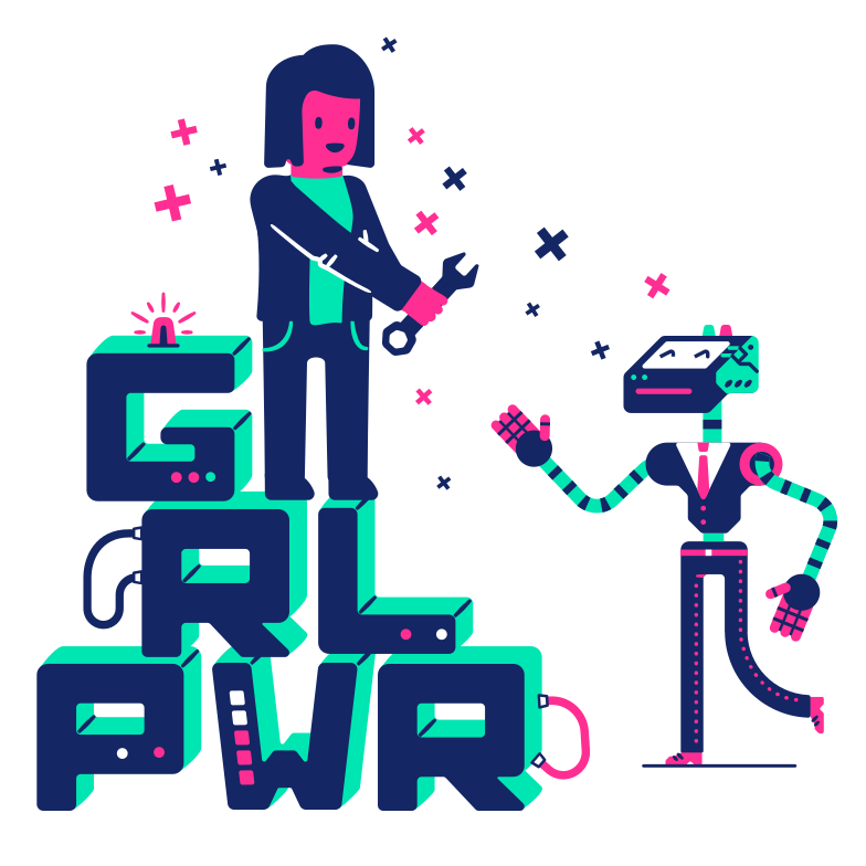 style GRL PWR Vector images in PNG and SVG | Icons8 Illustrations