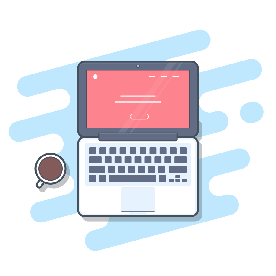 MacBook Clipart illustration in PNG, SVG