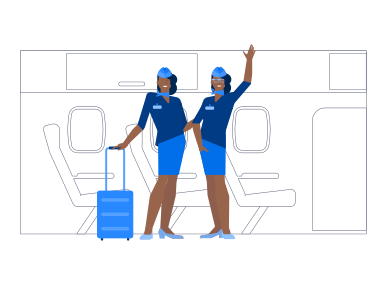 style Welcome Aboard The Airplane images in PNG and SVG | Icons8 Illustrations