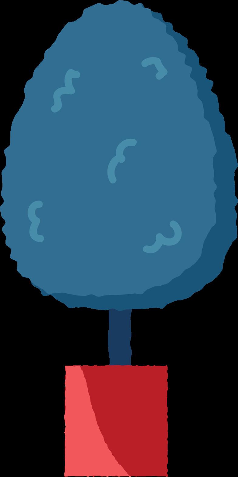 fruit tree Clipart illustration in PNG, SVG