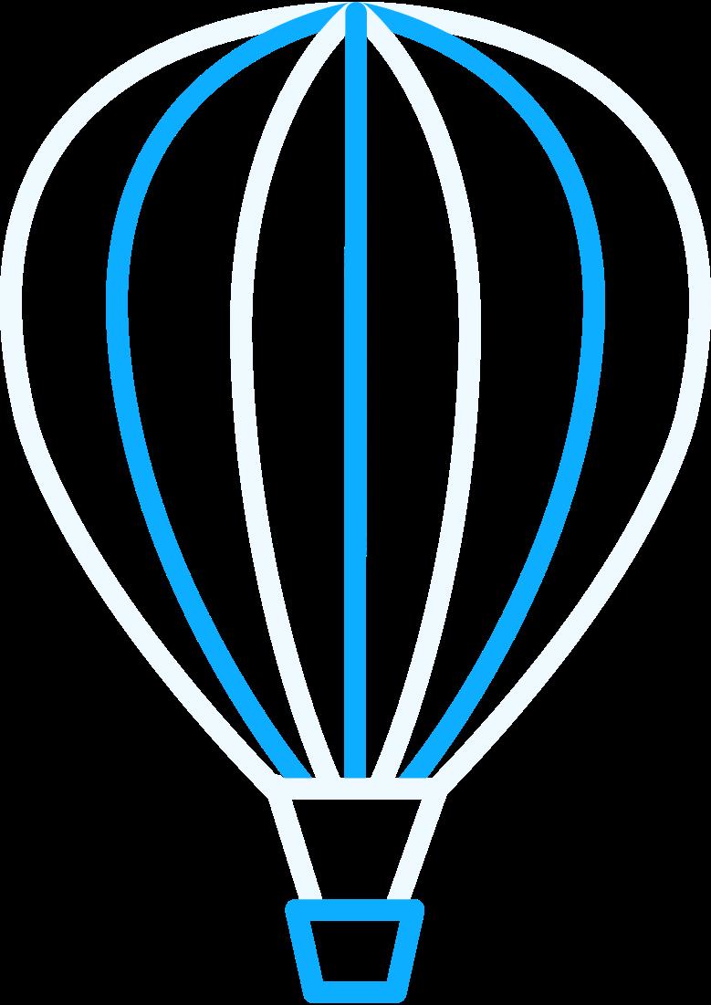 PNGとSVGの  スタイルの r熱気球 ベクターイメージ | Icons8 イラスト