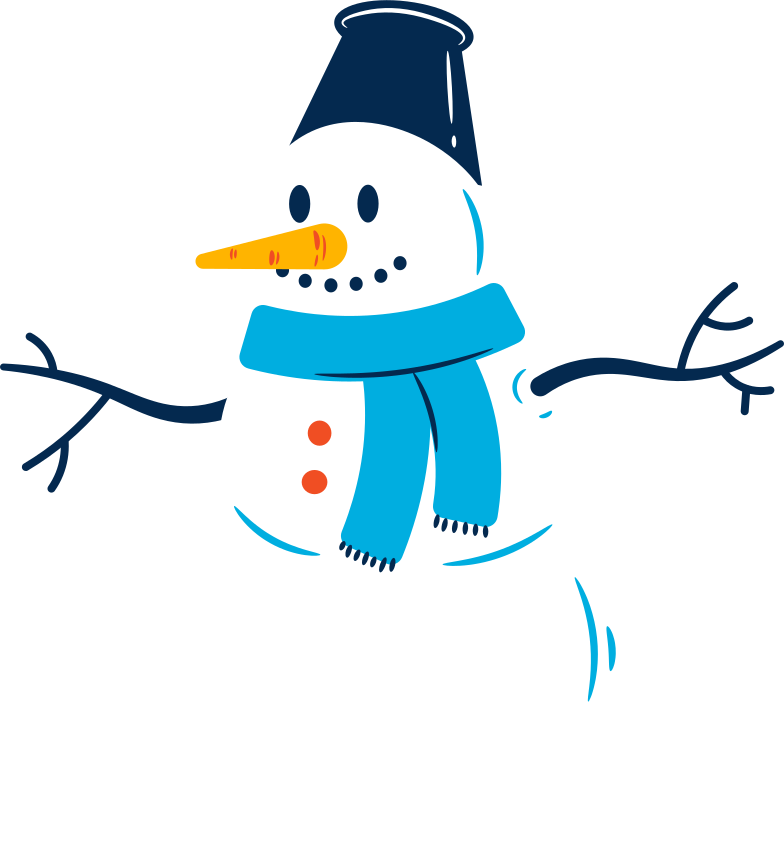 snowman Clipart illustration in PNG, SVG