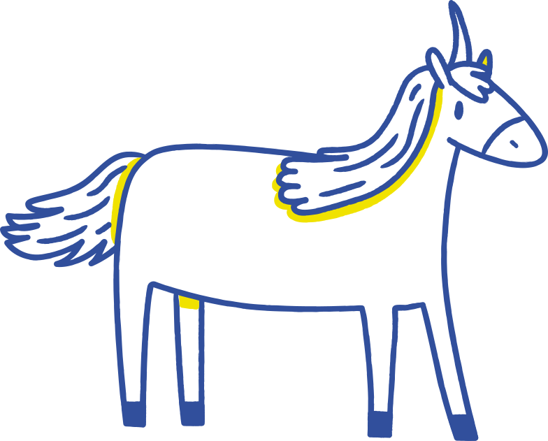 unicorn Clipart illustration in PNG, SVG