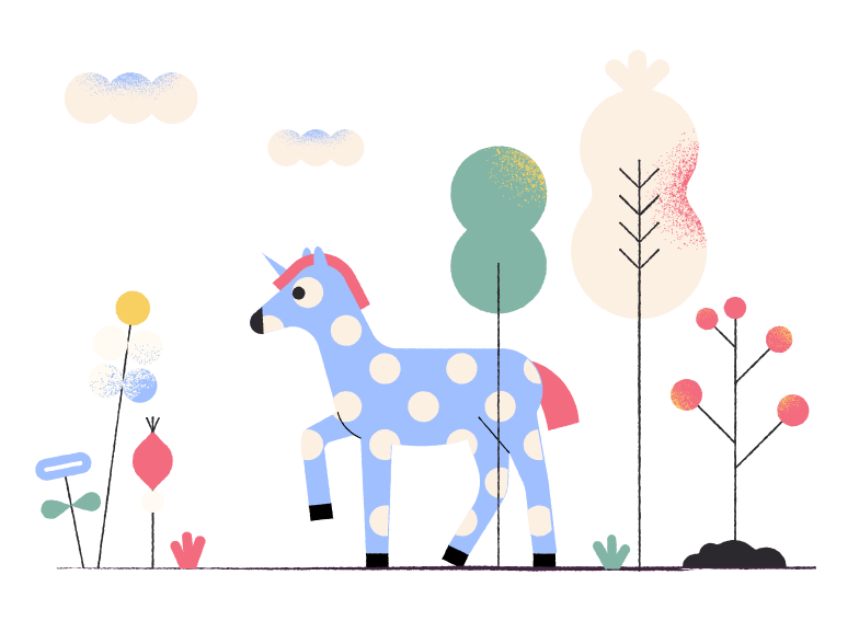 style Horse in colorful wood Vector images in PNG and SVG | Icons8 Illustrations