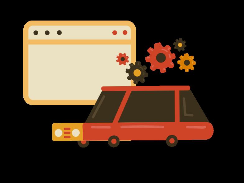 Car service Clipart illustration in PNG, SVG