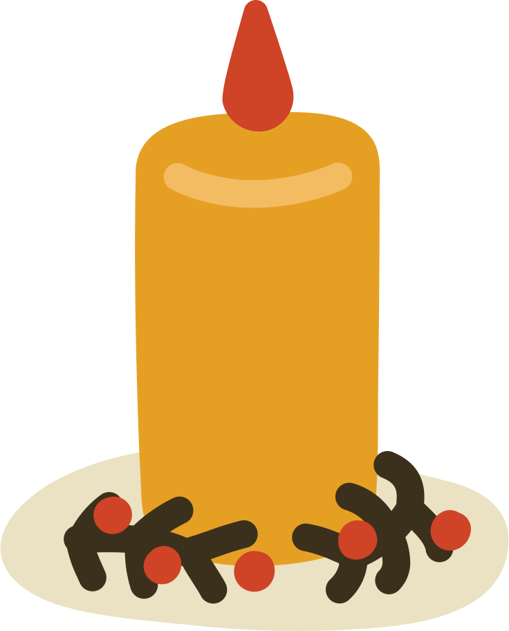 candle t Clipart illustration in PNG, SVG