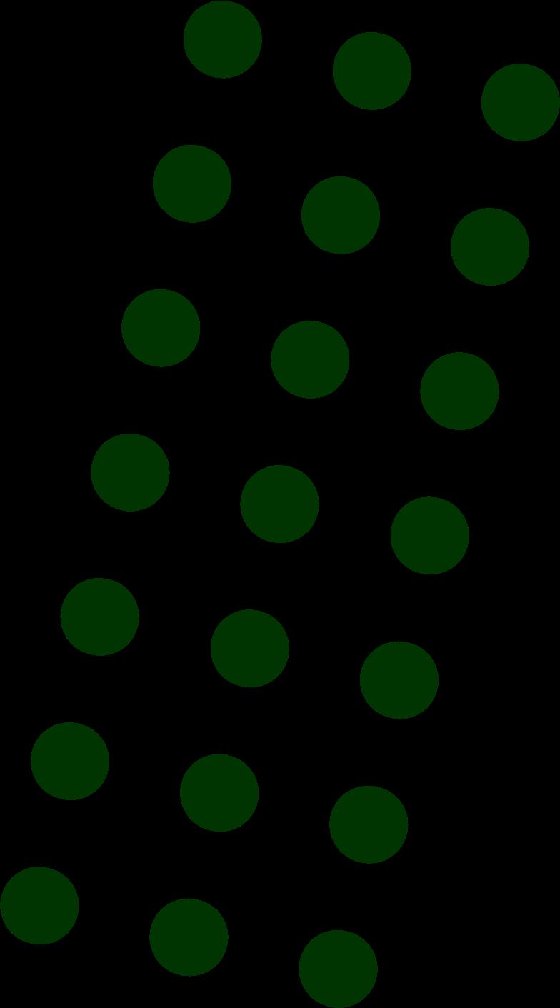 dots dark green Clipart illustration in PNG, SVG