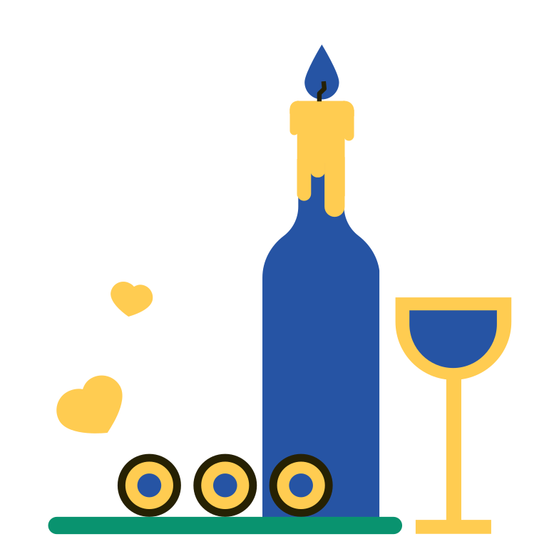 Dinner Clipart illustration in PNG, SVG