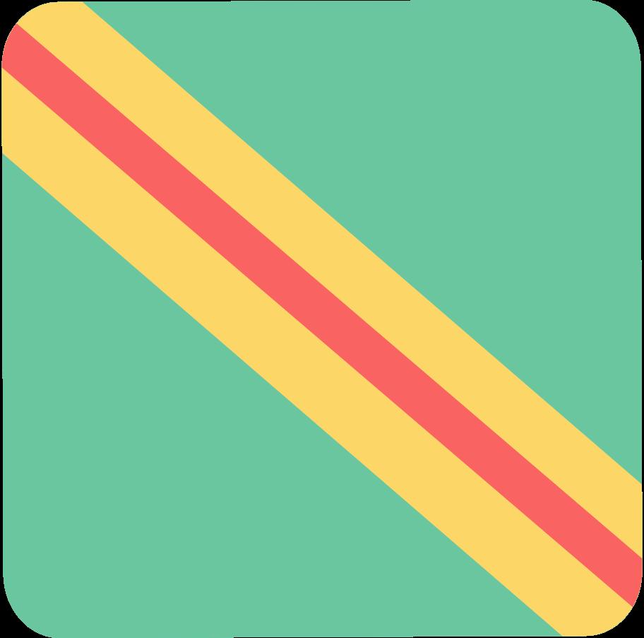 present big stripe Clipart illustration in PNG, SVG