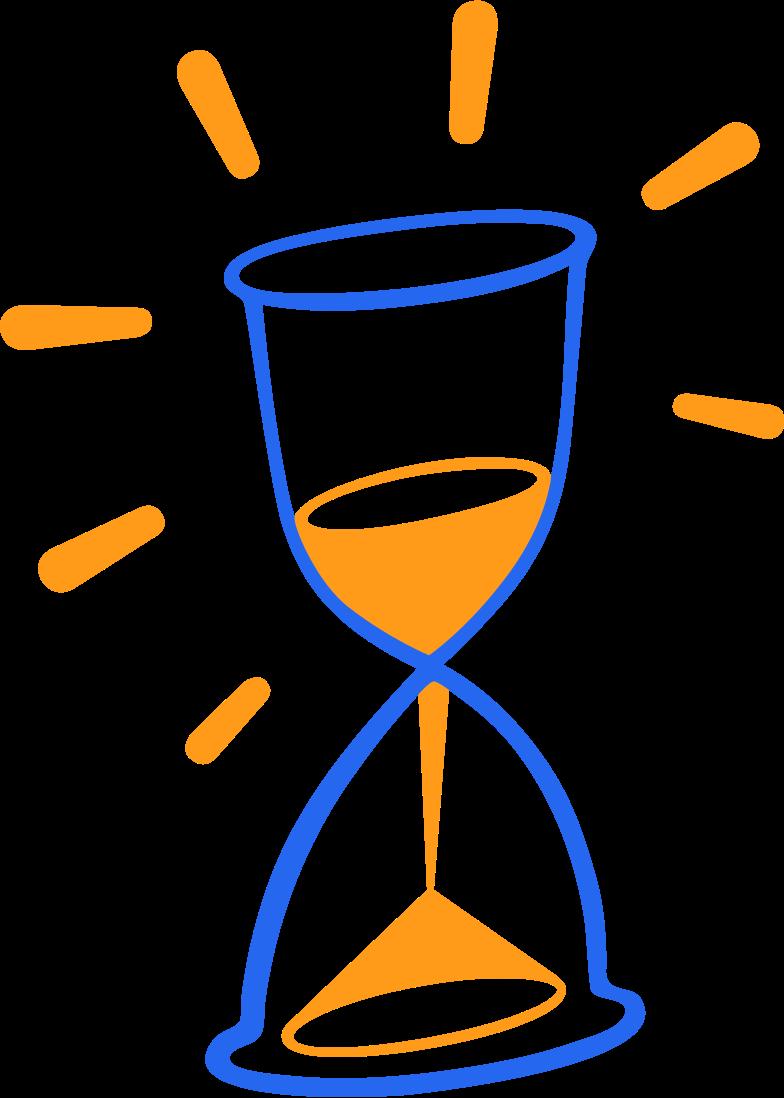 Vektorgrafik im  Stil hourglass with decorative lines als PNG und SVG | Icons8 Grafiken