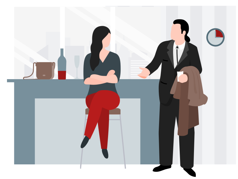 style Late for a date Vector images in PNG and SVG | Icons8 Illustrations