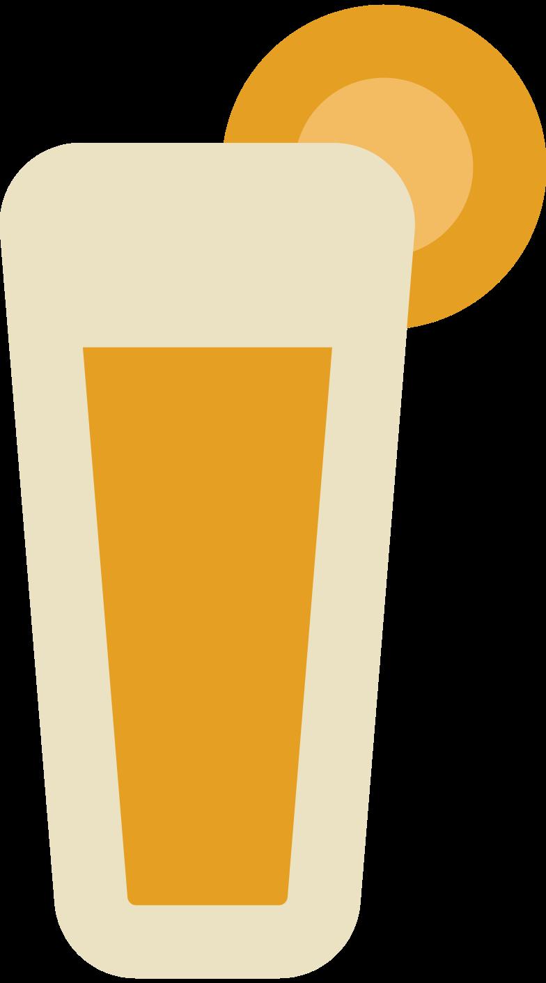 beach lemonade Clipart illustration in PNG, SVG