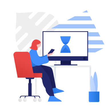 style Waiting, downloading images in PNG and SVG | Icons8 Illustrations