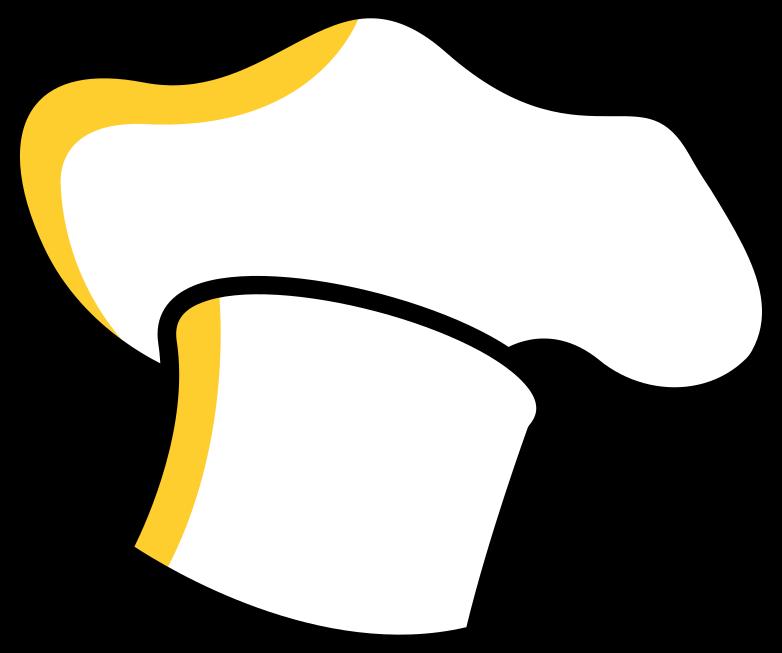 Chapéu de cozinheiro chefe Clipart illustration in PNG, SVG