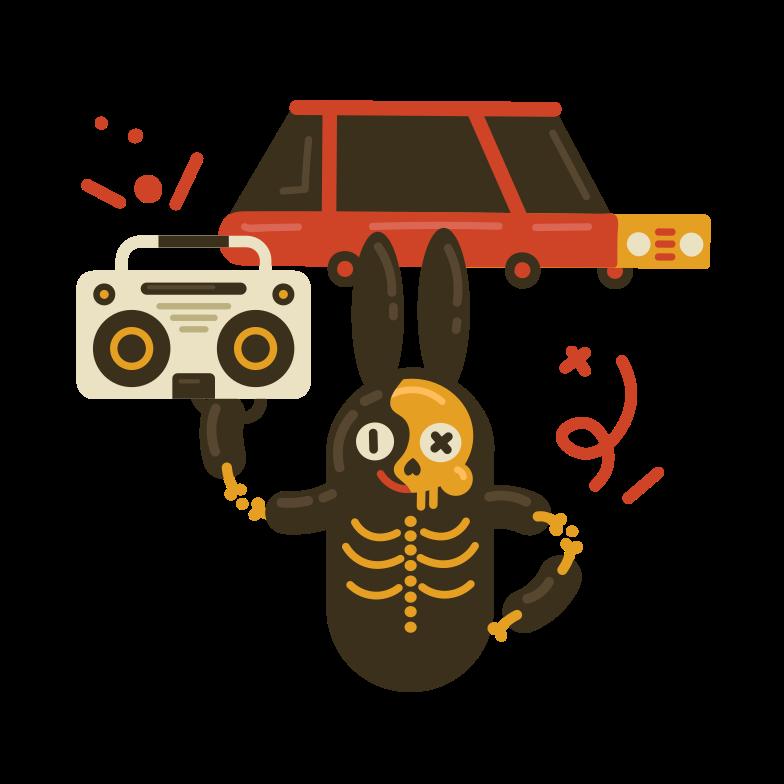 Cool guy Clipart illustration in PNG, SVG