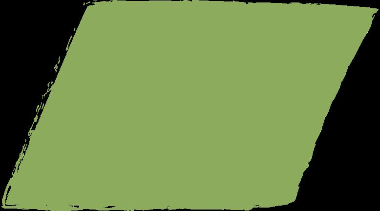 parallelogram-dark-green Clipart illustration in PNG, SVG