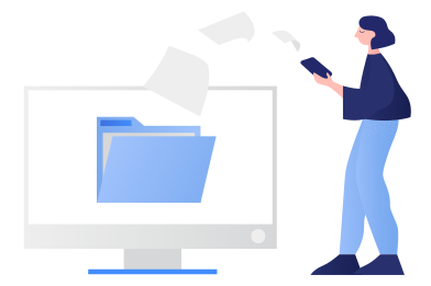 style File transfer images in PNG and SVG | Icons8 Illustrations