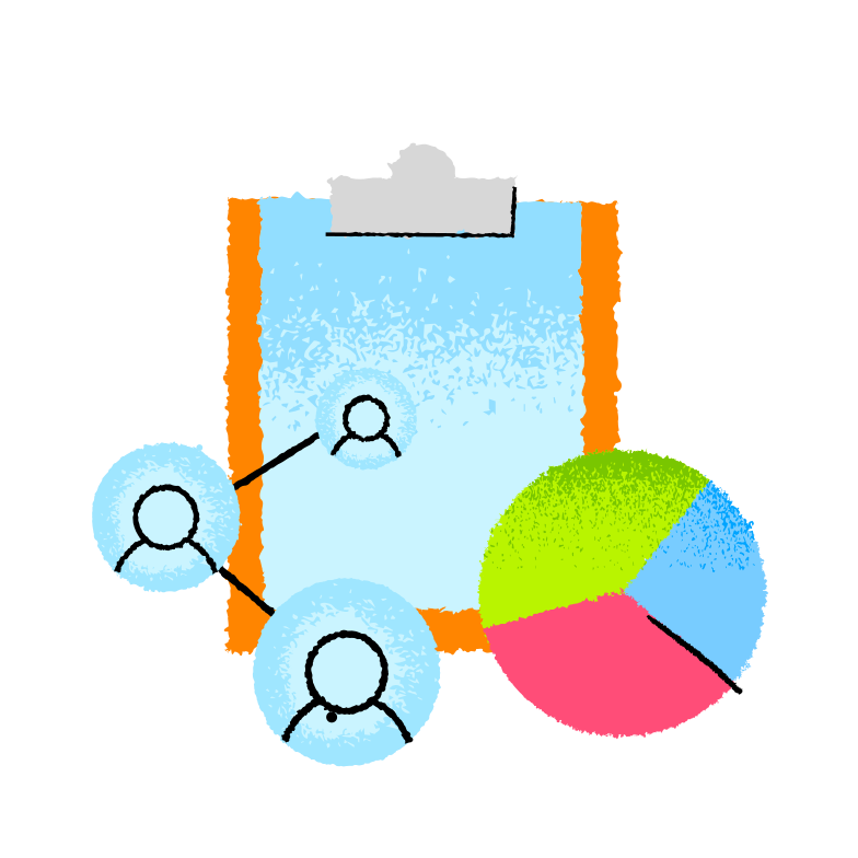 Work planning  Clipart illustration in PNG, SVG