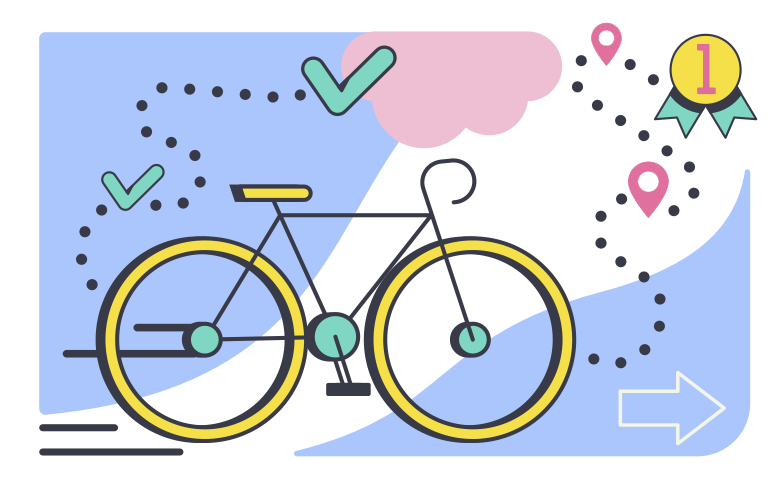 style Cycle race Vector images in PNG and SVG | Icons8 Illustrations