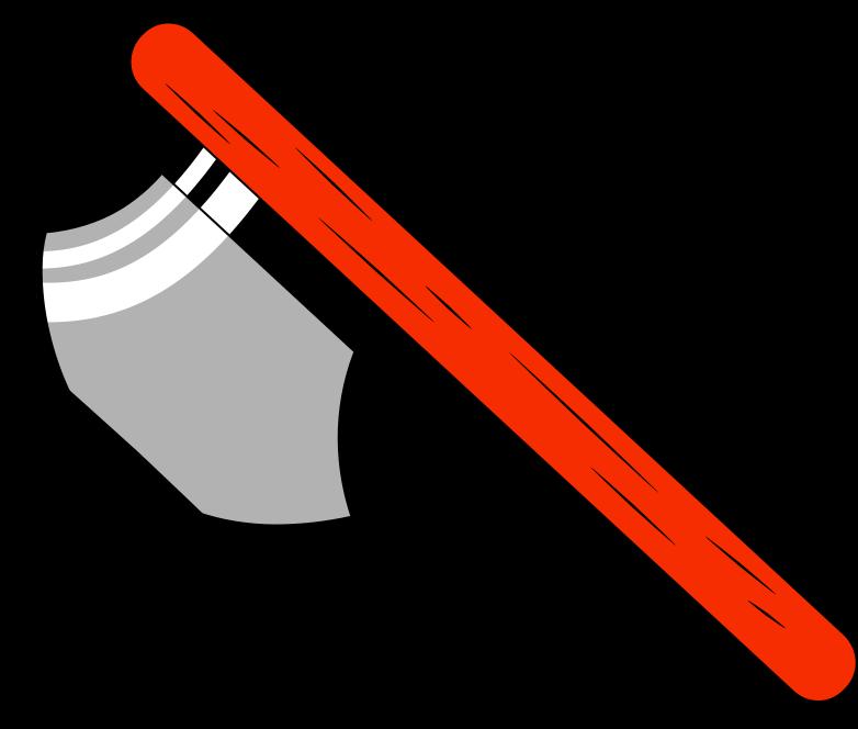 hatchet Clipart illustration in PNG, SVG