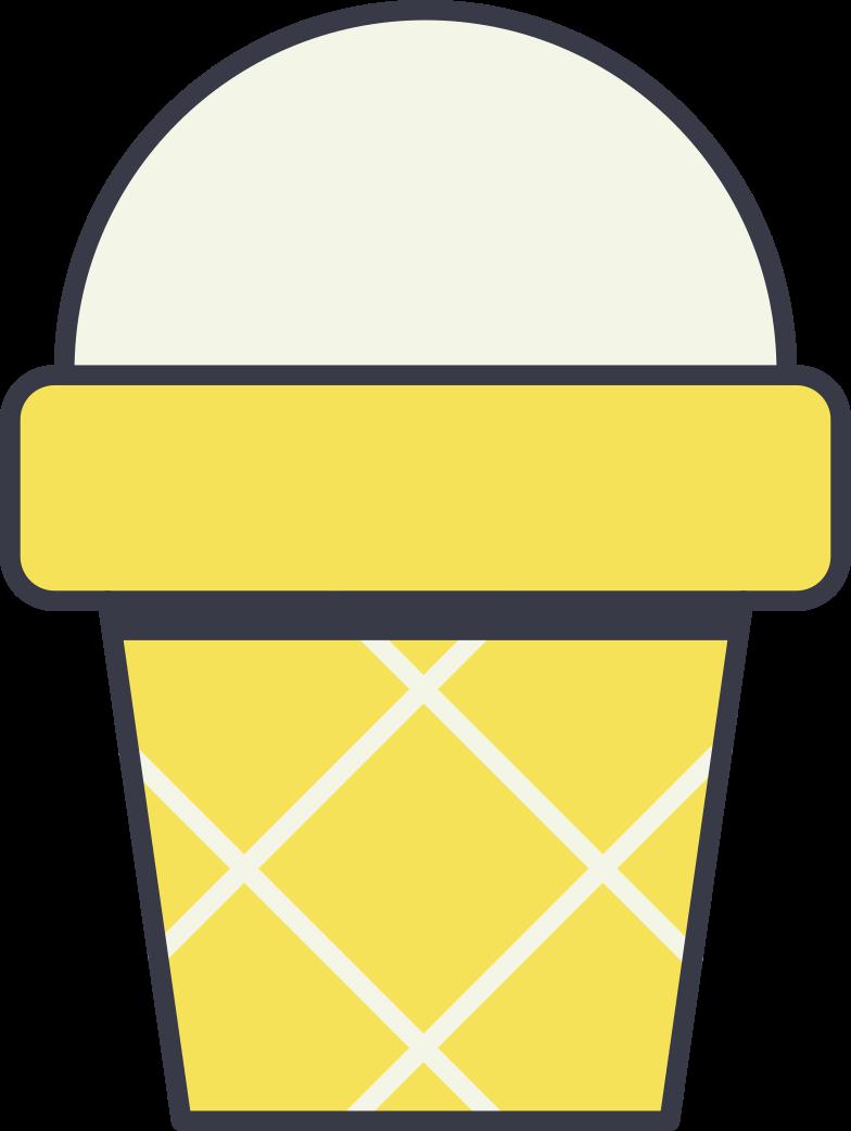 PNGとSVGの  スタイルの アイスクリームカップ ベクターイメージ | Icons8 イラスト
