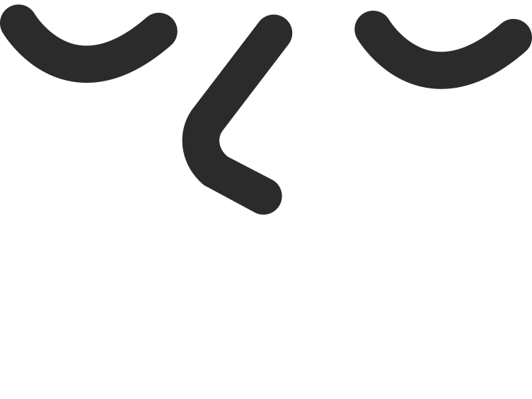 peaceful smiling face Clipart illustration in PNG, SVG