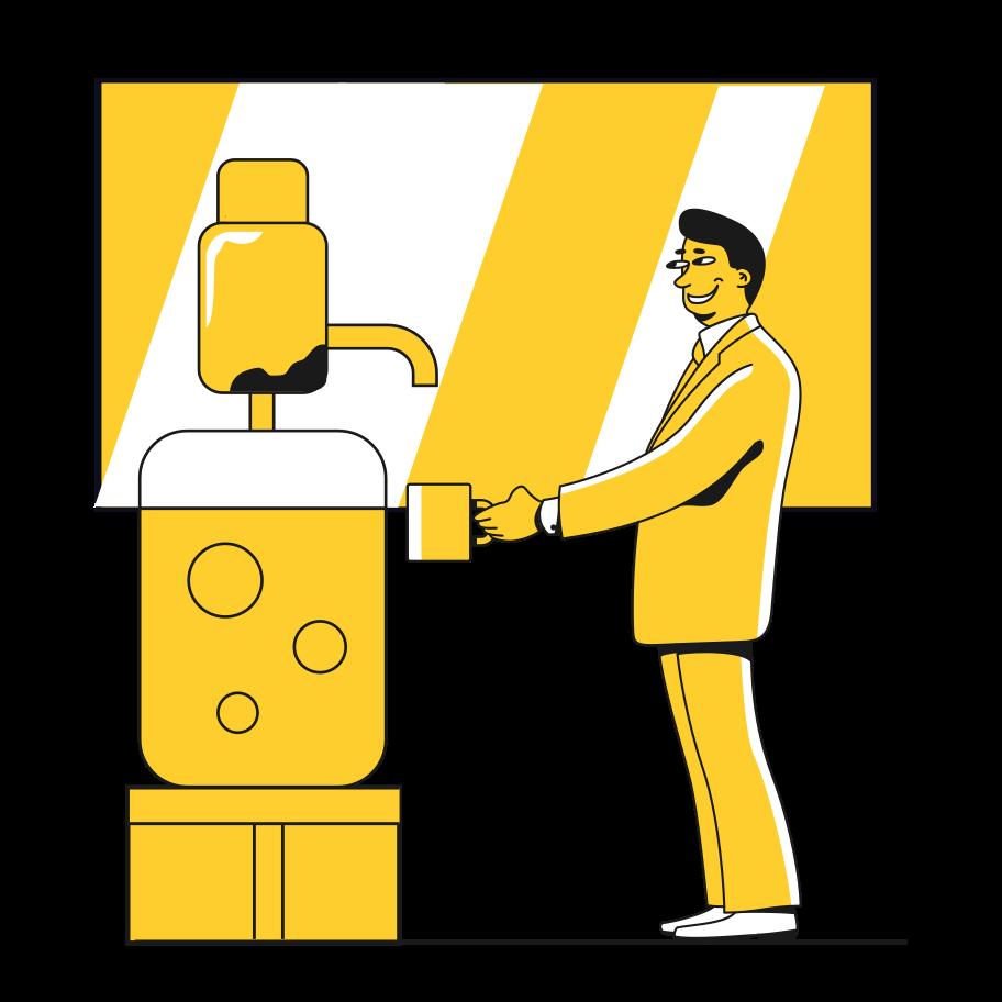 Beer cooler Clipart illustration in PNG, SVG