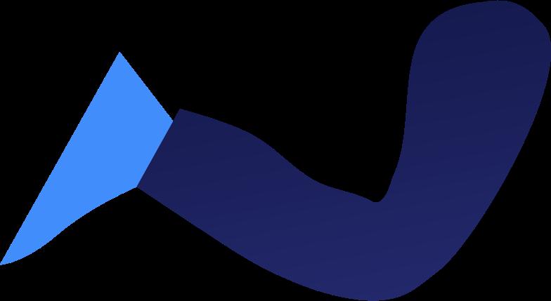 kid leg Clipart illustration in PNG, SVG
