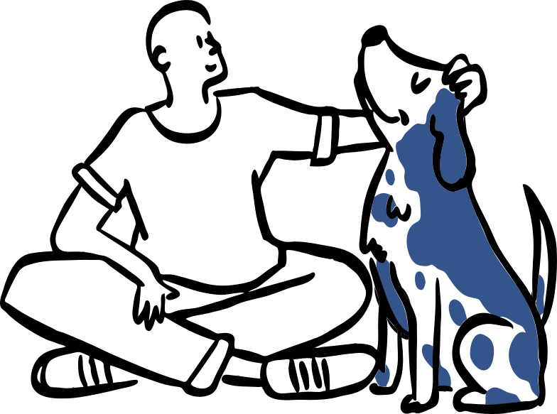 Doggie Clipart illustration in PNG, SVG