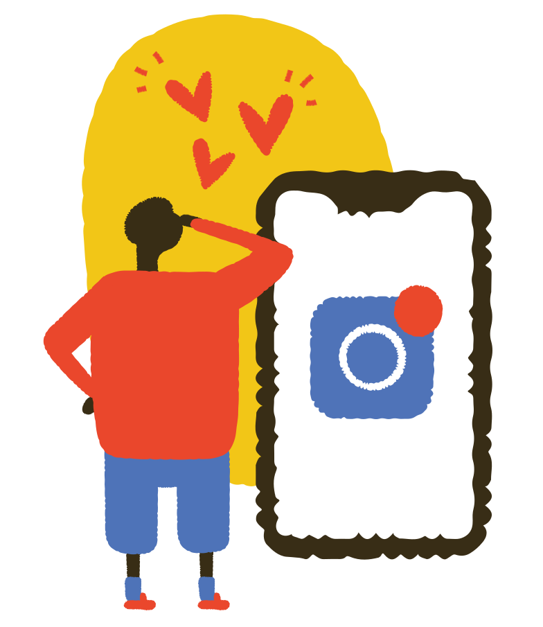 style Instagram likes Vector images in PNG and SVG | Icons8 Illustrations