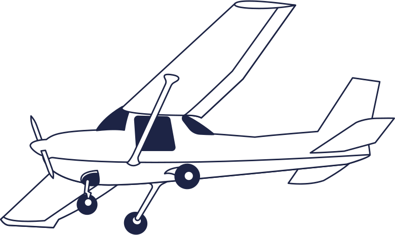 logged out  delta plane line Clipart illustration in PNG, SVG